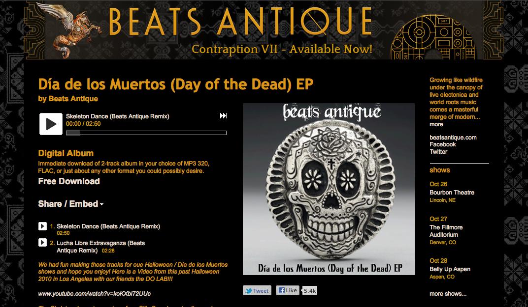 beats antique halloween EP image